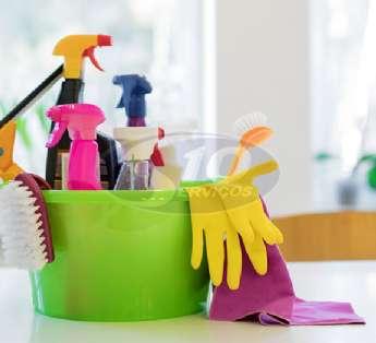 Serviço de limpeza em centros comerciais na cidade de Suzano/SP
