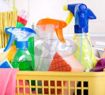 Foto: Serviço de limpeza em instituições de ensino na cidade de Atibaia/SP
