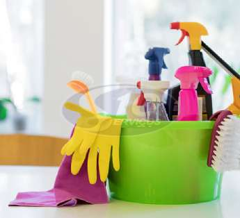Foto: Serviço de limpeza em instituições de ensino na cidade de Suzano/SP
