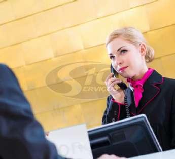 Foto: Serviço de recepção em centros comerciais na cidade de Suzano/SP