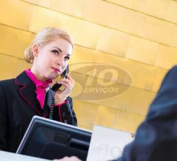 Serviço de recepção em empresas na cidade de São Caetano do Sul/SP